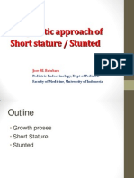 Diagnostic approach of Short stature / Stunted (Jan 2015) - Prof Dr Jose Batubara
