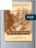 Cover Tijd in de Database