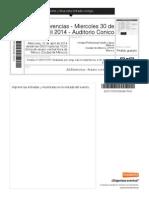 AG Electronica - Arduino Con Electrica - Auditorio Conico