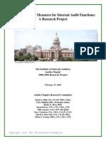 Pengukuran Kinerja Auditor IIA