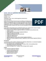 JB248 JBoss for Application Administration