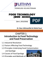 Food Technology Chapter 1
