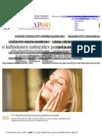 9 Infusiones Naturales Para Tu Rostro _ Bienestar180