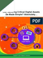 Securing Critical Digital Assets
