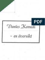 Dantes Komedi en Översikt