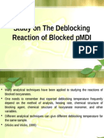 Study on Deblocking Reaction of Blocked Pmdi