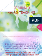 Seminar- Micro Teaching