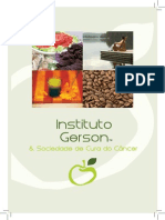 Brochura Em Português Sobre a Terapia Gerson