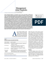Diagnosis and Management of Acute Interstitial Nephritis