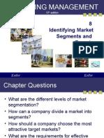 Marketing Manajemen_Identifying Market, Segment and Targets