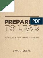 Preparing to Lead, by Dave Bruskas