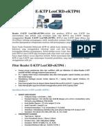 Reader E-ktp Len Crd