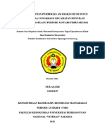 evaluasi cakupan pemberian ASI EKSLUSIF