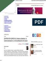 ----Leer Consideraciones en Brasil Sobre Violencia Obstetrica y Part Humanizao