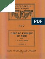 Flore de l'Afrique Du Nord (Maroc, Algérie, Tunisie, Tripolitaine, Cyrénaïque Et Sahara), Vol. 2, R. Maire (1953)