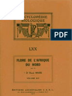 Flore de l'Afrique Du Nord (Maroc, Algérie, Tunisie, Tripolitaine, Cyrénaïque Et Sahara), Vol. 14, R. Maire (1977)