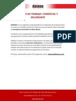 Oferta de Trabajo Comercial y Delineante