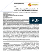 Physical, Thermal, and Spectroscopic Characterization of Biofield Energy Treated Potato Micropropagation Medium