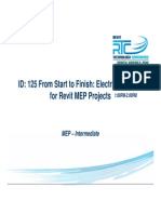 S14 From Start to Finish Electrical How - To for Revit MEP Projects-Joe Kerfoot