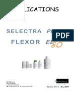 Selectra Pro XS, Flexor EL80 Manual Configuración de Reactivos
