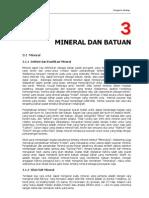 1. mineral dan batuan===