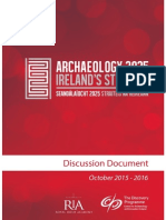 Archaeology 2025 Discussion Document