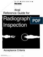The Practical Reference Guide for Radiographic Inspection Acceptance Criteria