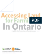 Accessing Land for Farming in on Guidebook REV4
