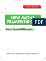 New Maths Frameworking Year 7 Pupil Book 1 a9545