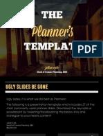 The Strategic Planners Presentation Template