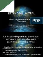 Presentacion 13-10-10 Estenosis Mitral