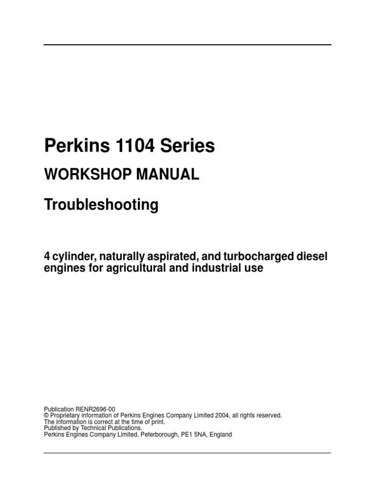 1104 troubleshooting perkins pdf throttle fuel injection rh pt scribd com perkins 1104c service manual perkins 1104 service manual