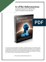 Secrets of the Subconscious Mind