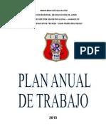 Plan Anual de Trabajo y Mejoramiento Academico 2016