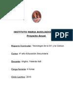Planificación TIC - 4º año 2015.doc