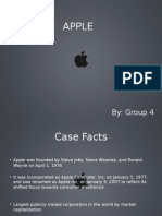 Strategic Management - Apple Inc. - Group 9[Autosaved]