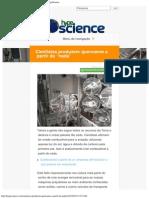 Cientistas Produzem Querosene a Partir Do _nada_ _ HypeScience