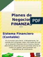 Planes de Negocios Finanzas