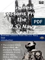Business Lessons from the Navy Seal