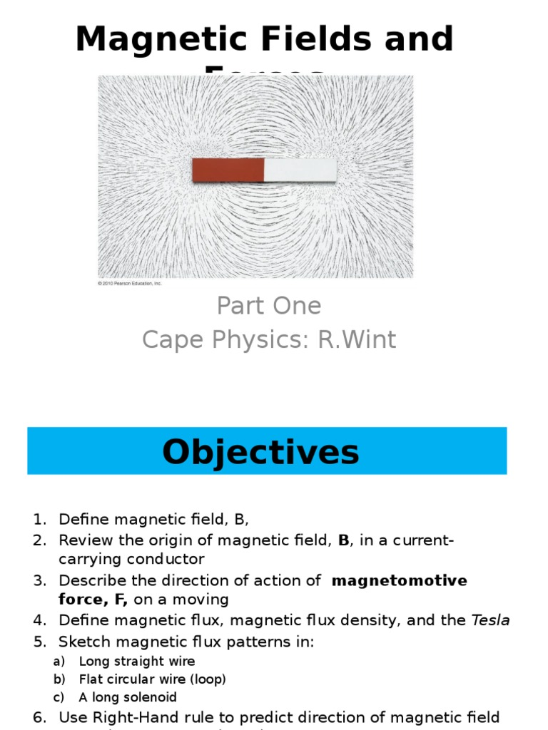 Magnetic Fields and Forces | Magnetic Field | Flux