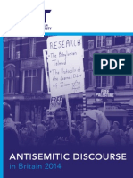 Antisemitic Discourse Report 2014