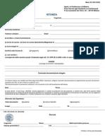Modulo Di Istanza - Application ITA 2014 01