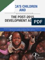Africa's Children and the Post-2015 Development Agenda.pdf