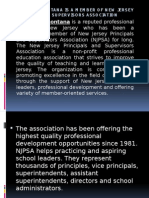 Joseph Tramontana is a Member of New Jersey Principals and Supervisors Association