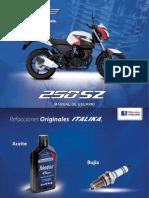 Manual de italika 250SZ