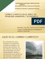 Cambio Climático, Efecto Económico en El Perú - Dic. 2012