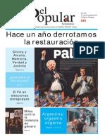 El Popular 334 Órgano de Prensa Oficial del Partido Comunista de Uruguay