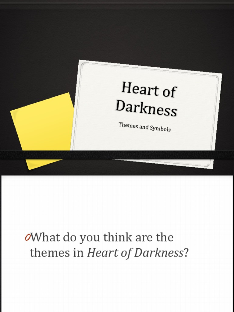 Heart of darkness theme and symbols heart of darkness heart of darkness theme and symbols heart of darkness philosophical science biocorpaavc