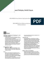 31010ATY-HUAWEI B260 Wireless Gateway User Guide-(V100R001_01,Turkish,TURKCELL)