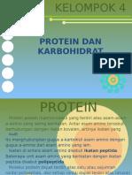 Kelompok 4 (Protein Dan Karbohidrat)